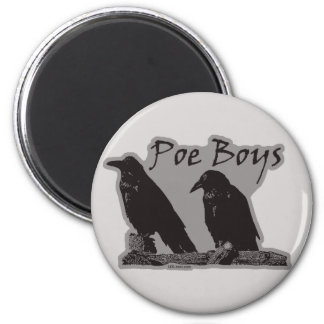 Poe Boys Refrigerator Magnet