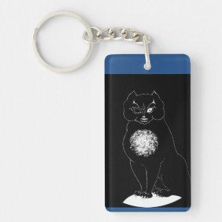 Poe Cat Keychain