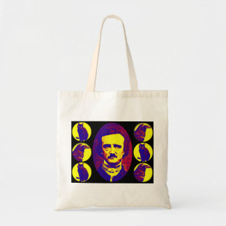 Poe, Cats, and Ravens Tote Bag