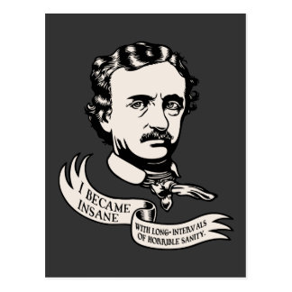 Poe - Cordura Tarjeta Postal