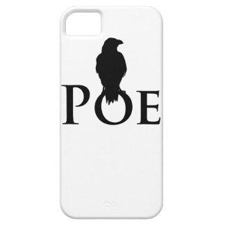 Poe cuervo - Edgar Allan Poe Signet con cuervos iPhone 5 Carcasa
