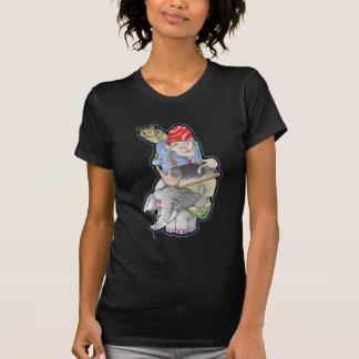 Poe Dis owl & elephant T Shirt
