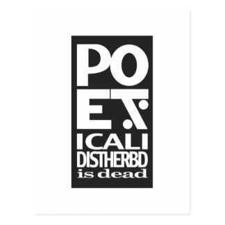 Poe Dis Postcard