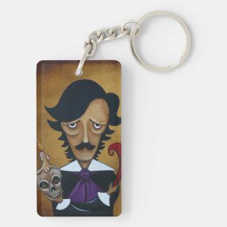 Poe double sided acrylic keychain