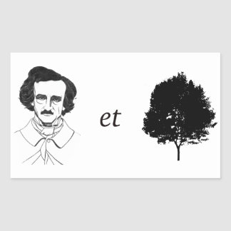 Poe-et-Tree Sticker