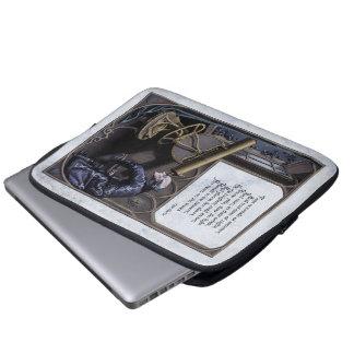 "Poe ""Evening Star"" Victorian Laptop Sleeve"