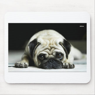 POE POE THE LITTLE PUGSTER MOUSE PAD