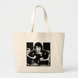 Poe Portrait Jumbo Tote Bag