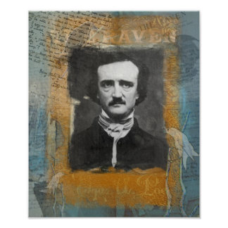 Poe Remixed Portfolio Print