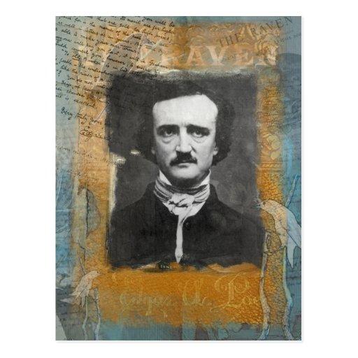 Poe Remixed Postcard