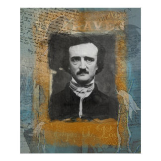 Poe Remixed Poster
