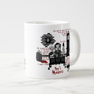 Poe s Madness Version 2 Mug Jumbo Mugs