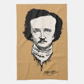 Poe Signed Kitchen Towel
