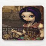 Poe - steampunk fairy Mousepad