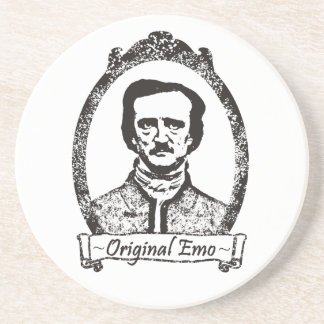 Poe: The Original Emo Beverage Coaster