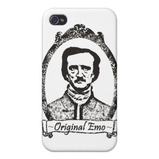 Poe: The Original Emo Case For iPhone 4