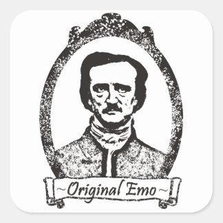 Poe: The Original Emo Square Stickers
