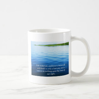 Poem About Death -  Inspirational Grieving Quote Classic White Coffee Mug