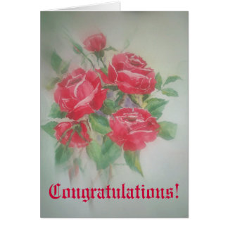 Poem Card Congratulations