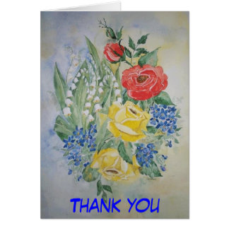 Poem Card Thank you