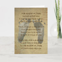Poem for a Daddy Holiday Card