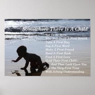 Poem For Expectant Parents Poster Art