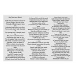 Poem for parents of kids with Aspergers syndrome Posters