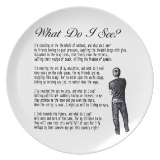 Poem for Plate