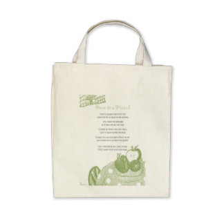 Poem to a Friend Tote Bags
