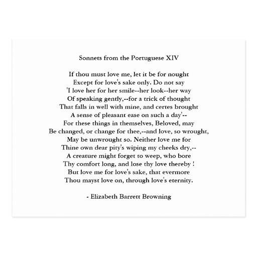 Poema 13 del Arte-Amor del Postal-Amor Tarjetas Postales