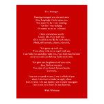 Poema 4 del Arte-Amor del Postal-Amor