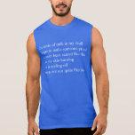 poema asustado camisetas sin mangas