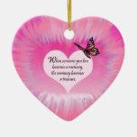 Poema atesorado de la mariposa de las memorias ornamento de reyes magos