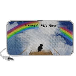 Poema conmemorativo del puente del arco iris para  iPod altavoz
