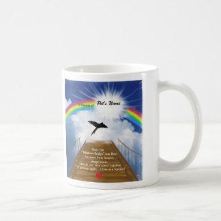 Poema conmemorativo del puente del arco iris para  taza de café