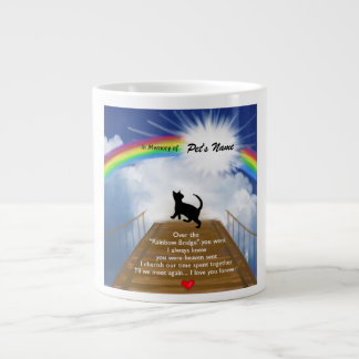 Poema conmemorativo del puente del arco iris para  taza jumbo
