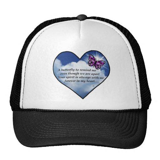 Poema conmemorativo gorra