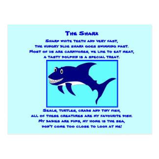 Poema de la postal Shark1