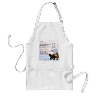 Poema de la sobrina - caballos delantal