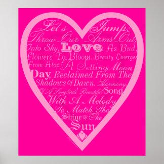 Poema de las tarjetas del día de San Valentín del