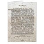 Poema de los DESIDERÁTUMS en el Moonstone Felicitaciones