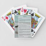 Poema de los desiderátums - gaviota en la escena d cartas de juego