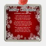 Poema del amigo - diseño del navidad ornamentos de reyes magos