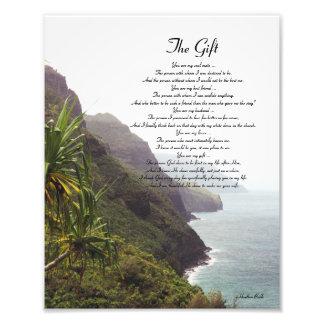 Poema del amor de Hawaii Arte Fotográfico