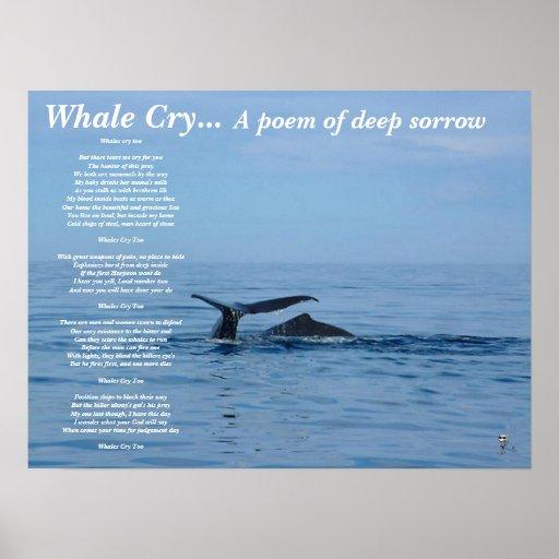 Poema del grito… A de la ballena del dolor profund Impresiones