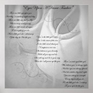 Poema del profesor de la danza poster