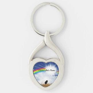 Poema del puente del arco iris para los hámsteres llaveros