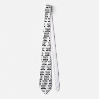 Poema del tocino corbata