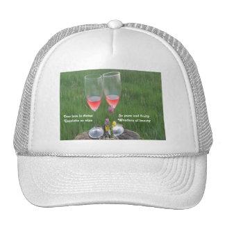 Poema del vino del gorra por el afloramiento de La