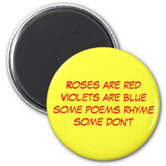 poema divertido iman de nevera